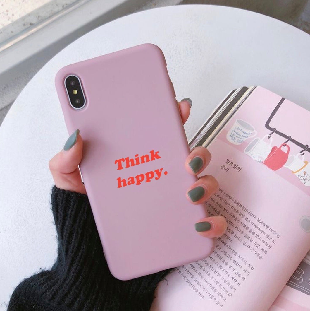Happy - Girly Collection - iPhone Xiaomi Samsung Huawei