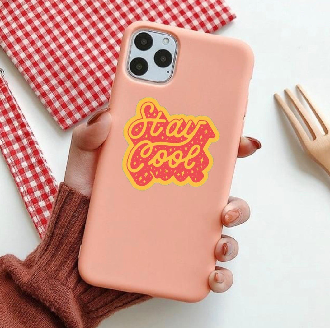 Stay Cool - Girly Collection - iPhone Xiaomi Samsung Huawei