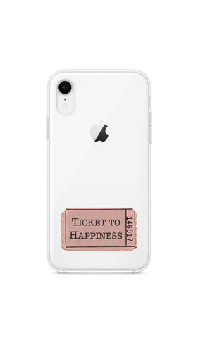Girly collection Ticket to happiness - Huawei Samsung Xiaomi