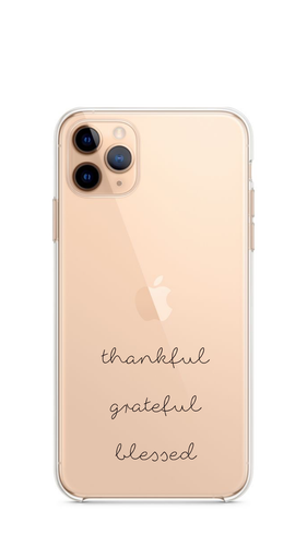 Thankful - Girly Collection - iPhone Xiaomi Samsung Huawei