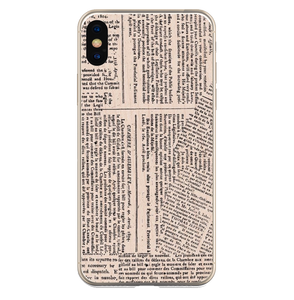 Newspaper - Girly Collection - iPhone Xiaomi Samsung Huawei