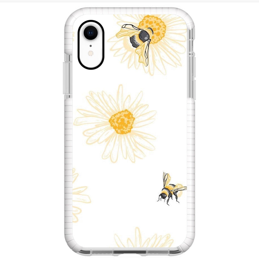 Flor y Abeja - Girly Collection - iPhone Xiaomi Samsung Huawei