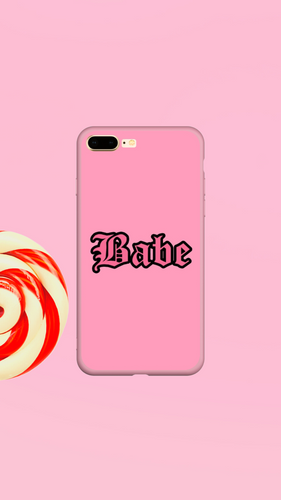 Babe Pink - Girly Collection - iPhone Xiaomi Samsung Huawei