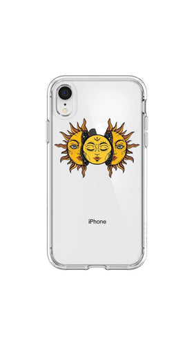 Sun and moon - Girly Collection - iPhone Xiaomi Samsung Huawei