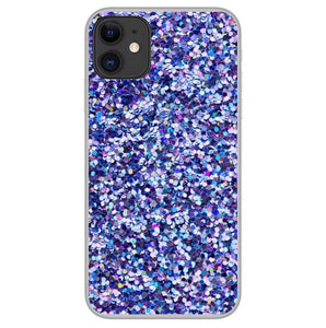 Purpurina Violeta - Girly Collection - iPhone Xiaomi Samsung Huawei
