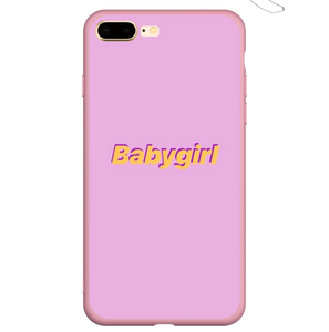 Babygirl - Girly Collection - iPhone Xiaomi Samsung Huawei