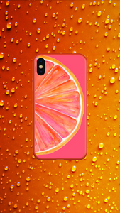 Orange - Girly Collection - iPhone Xiaomi Samsung Huawei