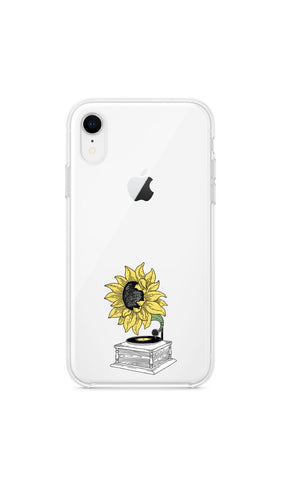 Girly collection Tocadiscos de girasol - Huawei Samsung Xiaomi