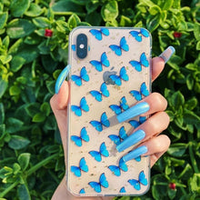 Load image into Gallery viewer, Butterflies - Girly Collection - iPhone Xiaomi Samsung Huawei