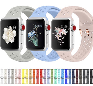 Agujeros Apple Watch con hebilla - Correas