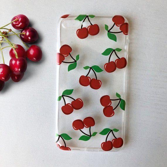 Red Cherry - Girly Collection - iPhone Xiaomi Samsung Huawei