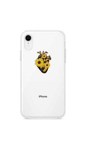Girly collection Sunflower heart - Huawei Samsung Xiaomi