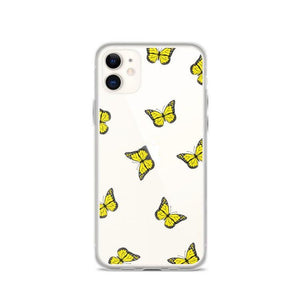 Yellow butterfly - Girly Collection - iPhone Xiaomi Samsung Huawei