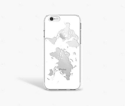 World gray - Girly Collection - iPhone Xiaomi Samsung Huawei