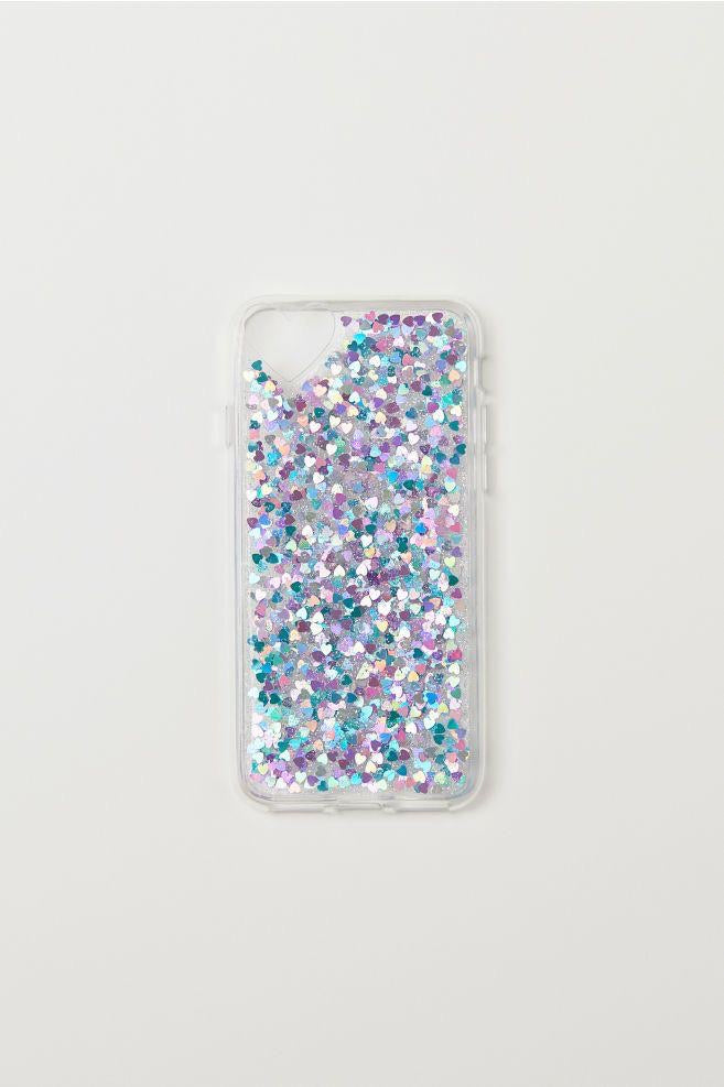 Blue glitter - Girly Collection - iPhone Xiaomi Samsung Huawei
