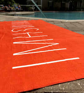 IMHSWIM Logo Travel Towel