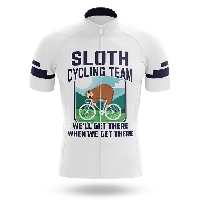 Sloth Cycling Team V5 - White