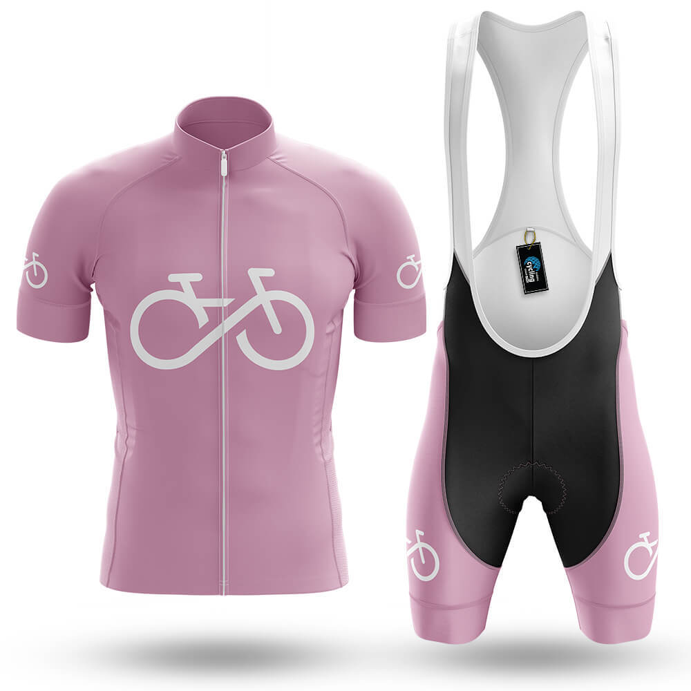 Bike Forever - Pink - Men's Cycling Kit - Global Cycling Gear