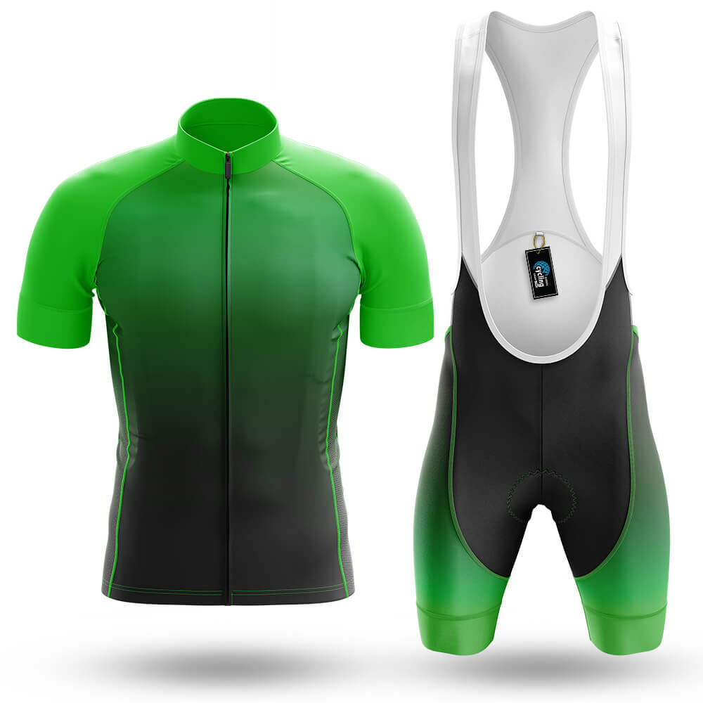 Green Gradient - Men's Cycling Kit - Global Cycling Gear