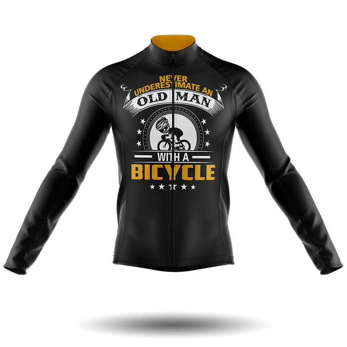 Old Man V4 - Long Sleeve Jersey - Global Cycling Gear