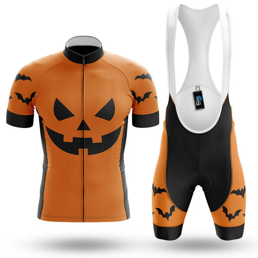 Pumpkin Face - Orange - Men's Cycling Kit - Global Cycling Gear