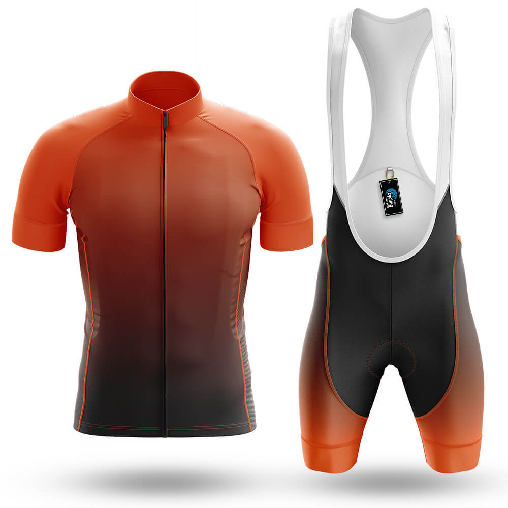 Orange Gradient - Men's Cycling Kit - Global Cycling Gear