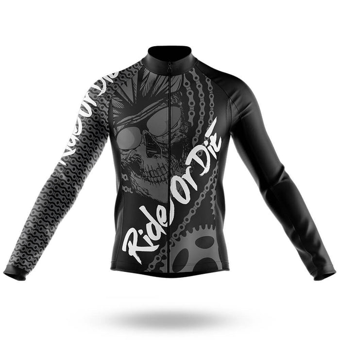 Ride Or Die V4 - Long Sleeve Jersey - Global Cycling Gear