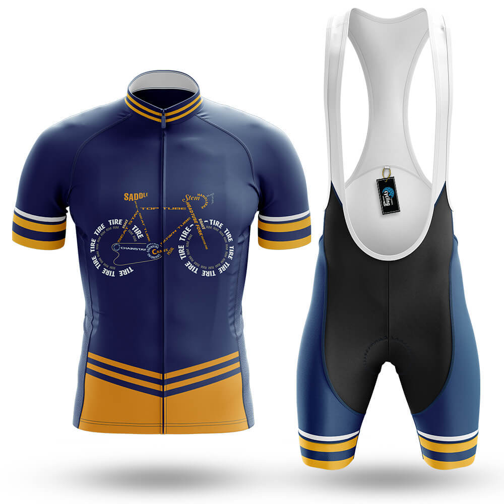 Bicycle Anatomy - Men's Cycling Kit - Global Cycling Gear