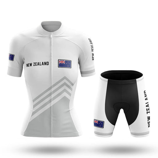 New Zealand S5 White - Women - Cycling Kit