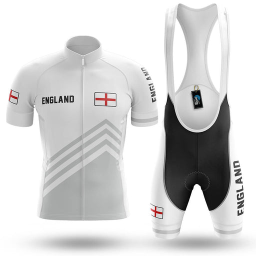 England S5 White - Men's Cycling Kit