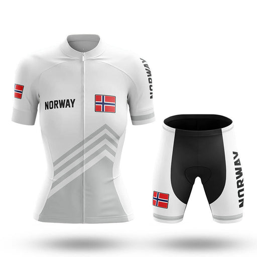 Norway S5 White - Women - Cycling Kit