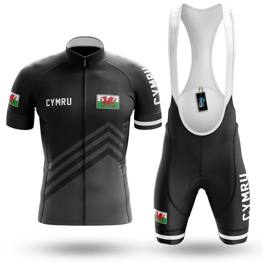 Cymru S5 Black - Men's Cycling Kit - Global Cycling Gear