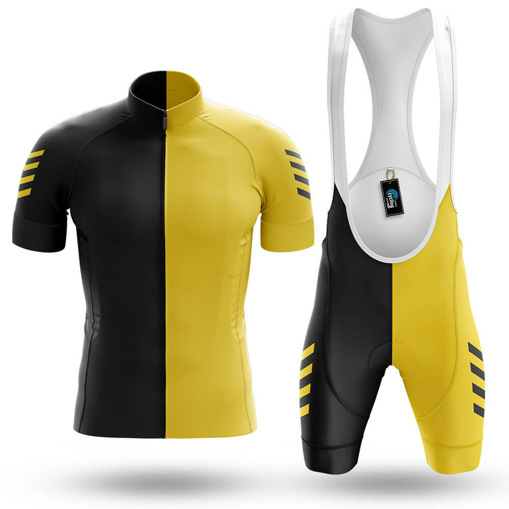 Yellow Black - Men's Cycling Kit - Global Cycling Gear