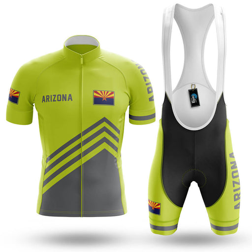 Arizona S4 Lime Green - Men's Cycling Kit