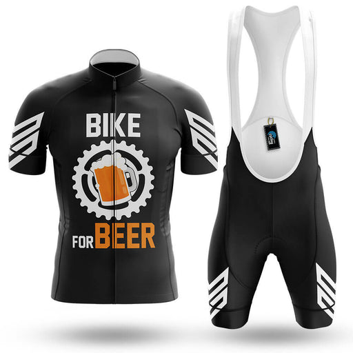 Bike For Beer V3 - Black - Men's Cycling Kit
