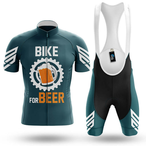 Bike For Beer V3 - Green - Men's Cycling Kit