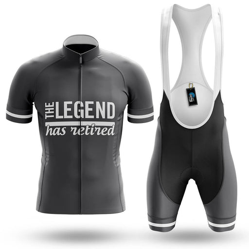 The Legend Has Retired - Men's Cycling Kit