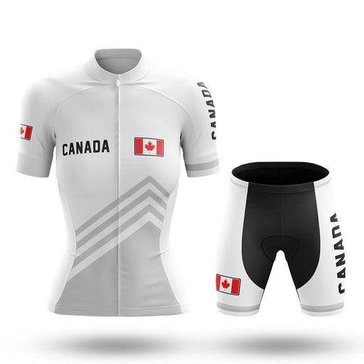 Canada S5 White - Women - Cycling Kit