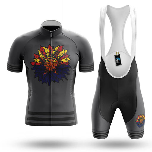 Arizona Sunflower - Grey - Men's Cycling Kit