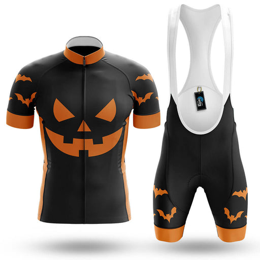 Pumpkin Face - Black - Men's Cycling Kit - Global Cycling Gear