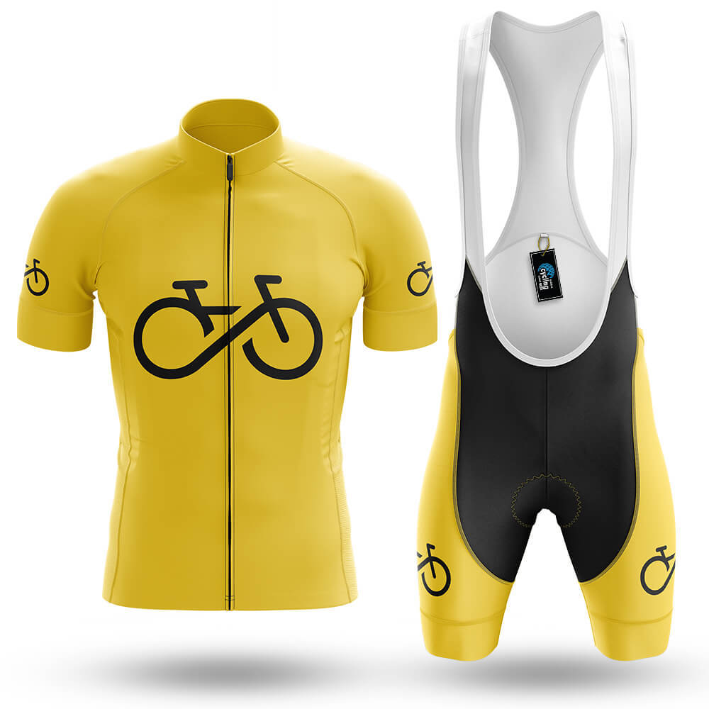 Bike Forever - Yellow - Men's Cycling Kit - Global Cycling Gear