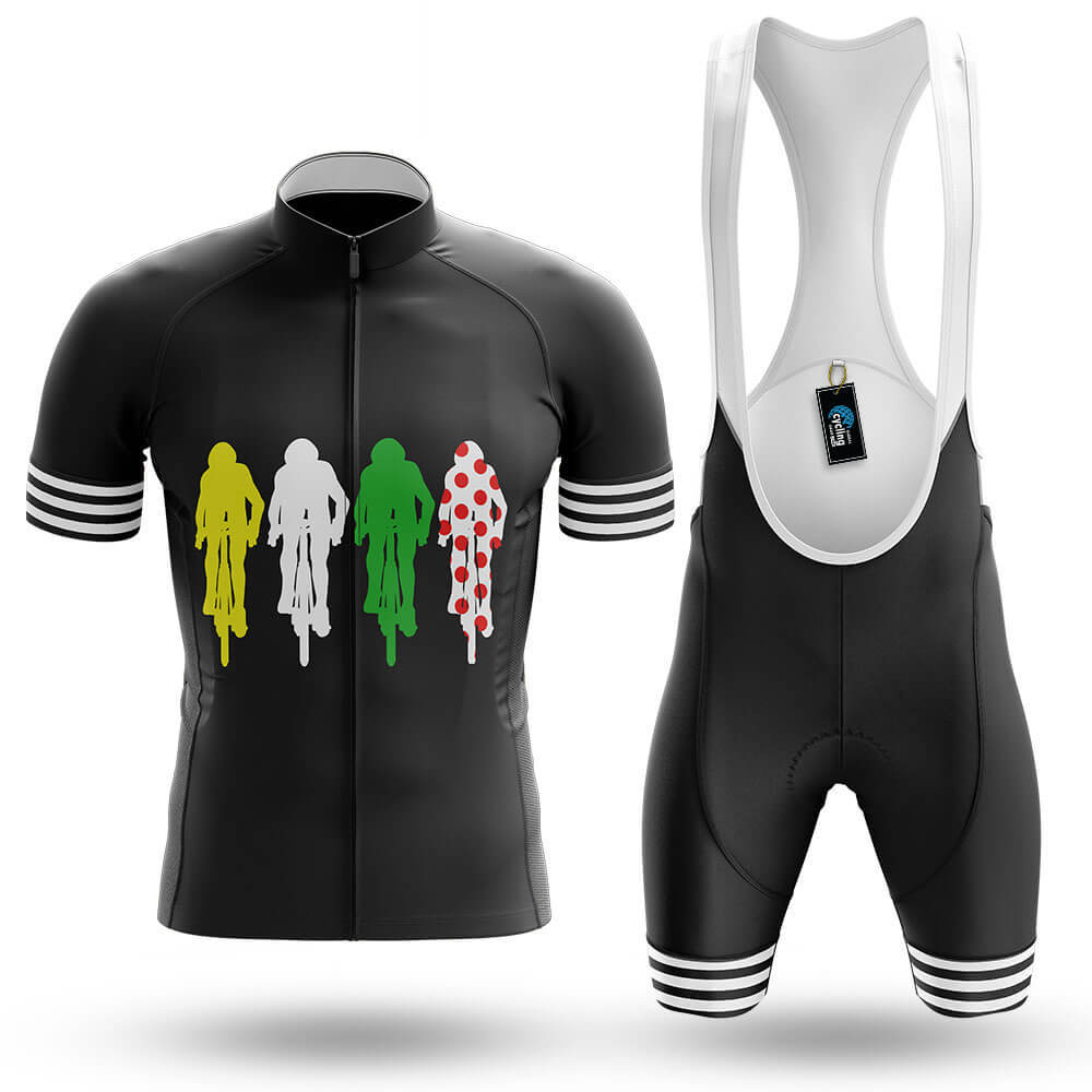 Colored Cyclists - Men's Cycling Kit - Global Cycling Gear