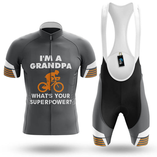 Superpower - Grey - Men's Cycling Kit