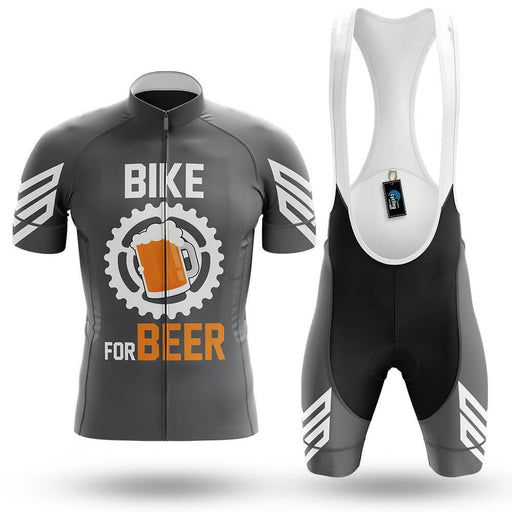 Bike For Beer V3 - Grey - Men's Cycling Kit