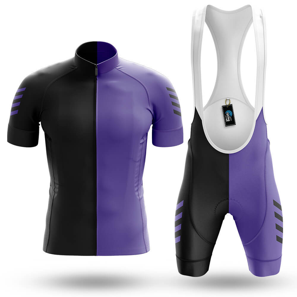 Violet Black - Men's Cycling Kit - Global Cycling Gear