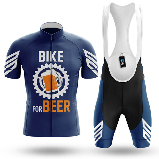 Bike For Beer V3 - Navy - Men's Cycling Kit
