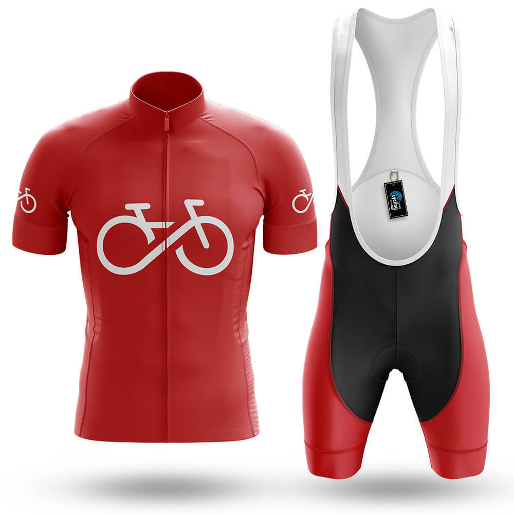 Bike Forever - Red - Men's Cycling Kit - Global Cycling Gear