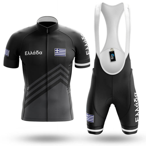 Ελλάδα S5 Black - Men's Cycling Kit