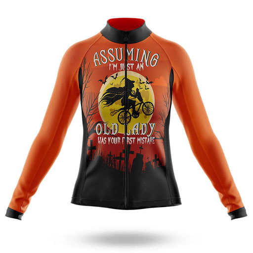 Halloween Lady -  Long Sleeve Jersey