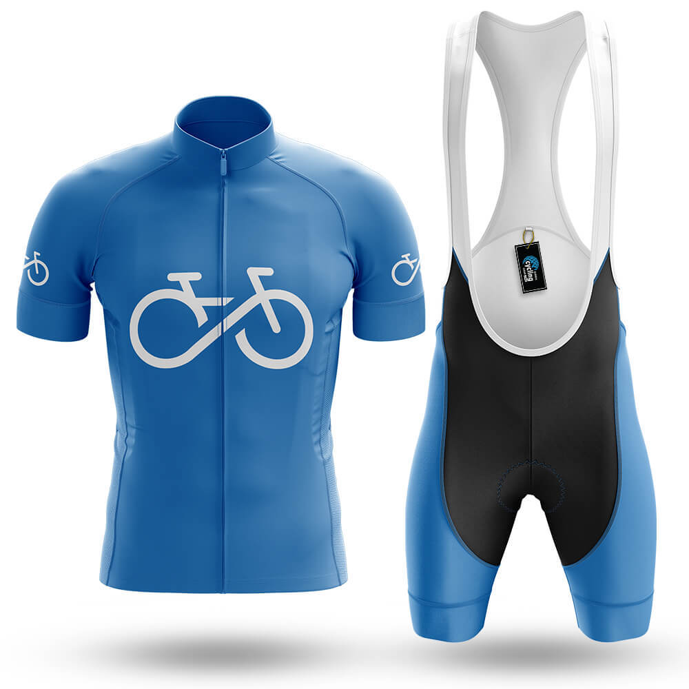 Bike Forever - Blue - Men's Cycling Kit - Global Cycling Gear